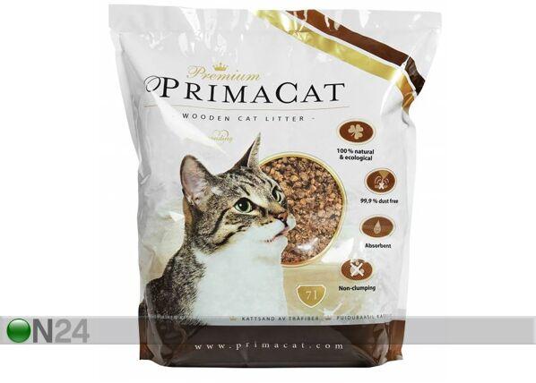 Premium PrimaCat PPC WOODY puupohjainen paakkuuntumaton hiekka 7 L