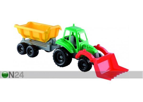 ECOIFFIER Pikku traktori ja peräkärry ECOIFFIER