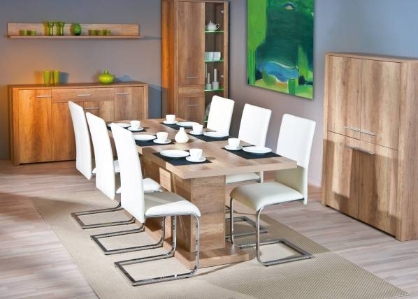 InterLink Jatkettava ruokapöytä ABSOLUTO 160-200x90 cm