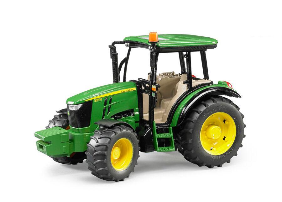 BRUDER JOHN DEERE 5115M traktori 1:16 BRUDER