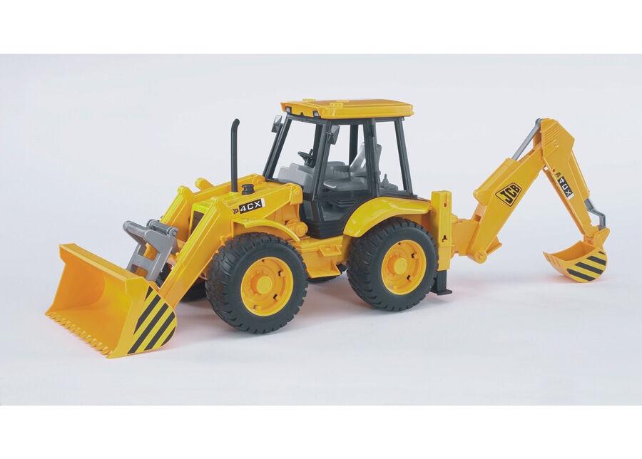 BRUDER JCB 4CX traktori-kaivinkone 1:16 BRUDER
