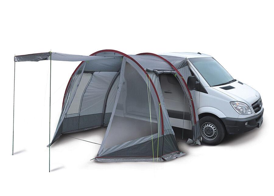 High Peak Pakettiauton teltta HIGH PEAK TRAVELLER harmaa/tummanharmaa