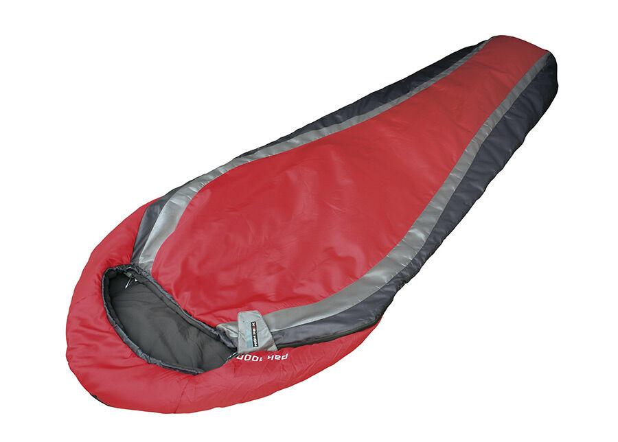 High Peak Makuupussi HIGH PEAK PAK 1000 punainen/tummanharmaa/harmaa