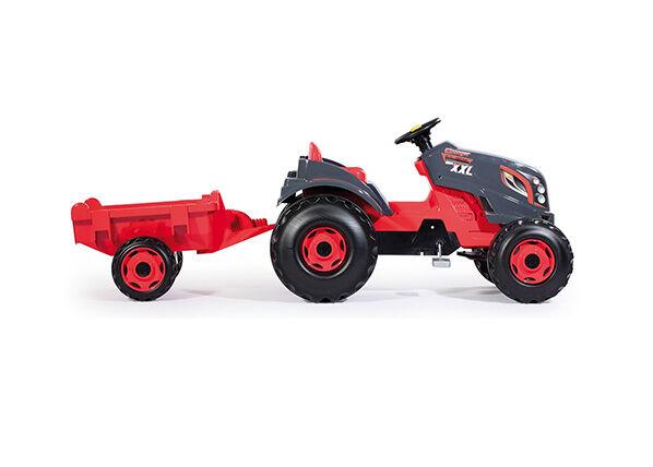 SMOBY Traktori ja peräkärry STRONGER