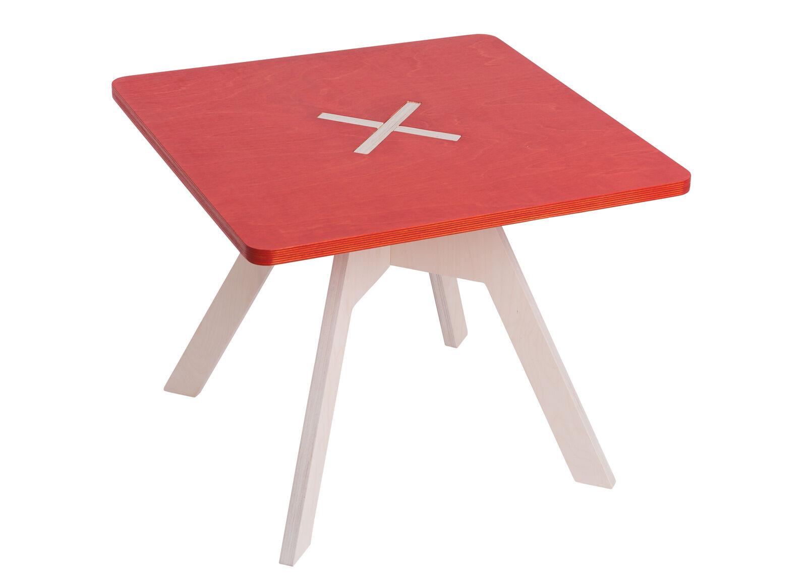 123OK Sohvapöytä/lastenpöytä 60x60 cm