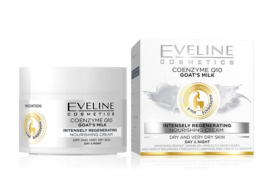 Eveline Cosmetics Nature Line kasvovoide vuohenmaidolla Eveline Cosmetics5 0ml