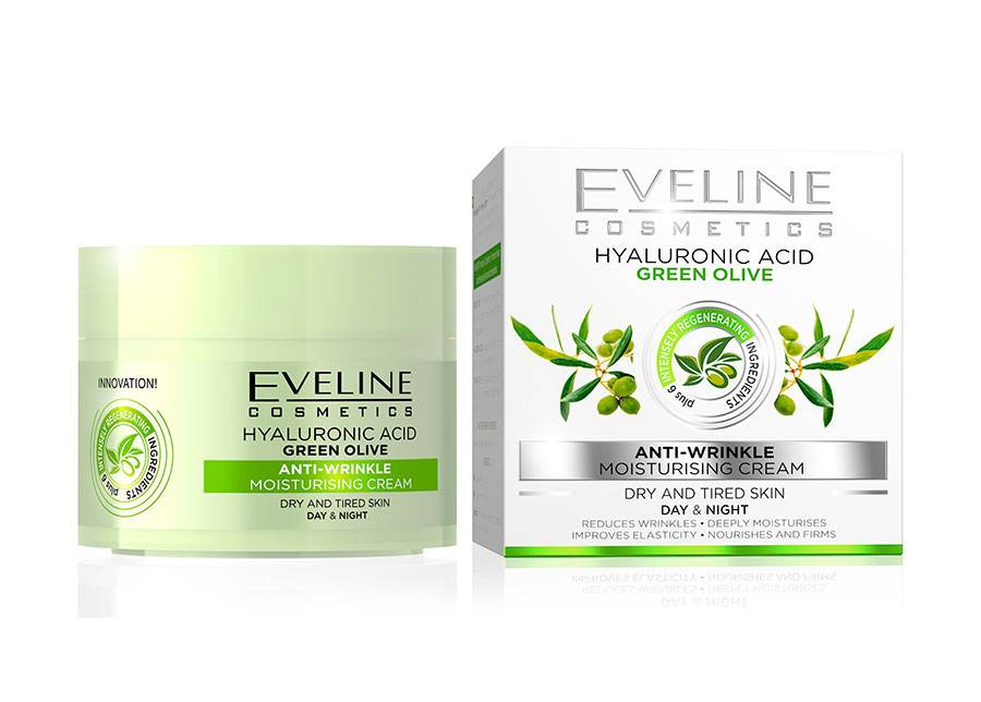 Eveline Cosmetics Nature Line kasvovoide oliivilla Eveline Cosmetics 50ml