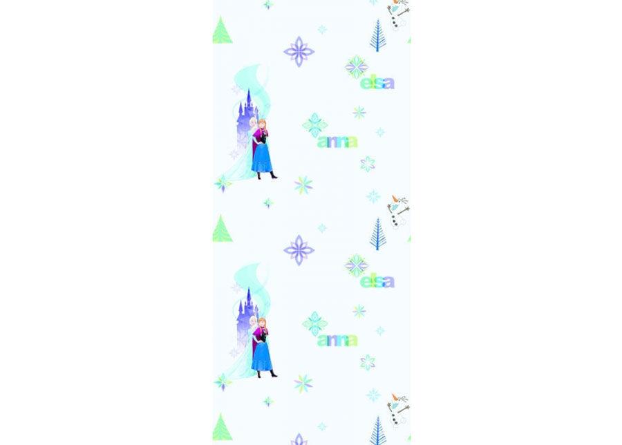 AG Design Fleece-tapetti FROZEN: ELZA AND ANNA, BLUE 53x1000 cm