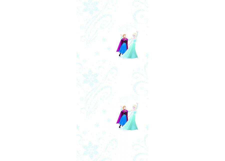 AG Design Fleece-tapetti FROZEN MAGIC, WHITE 53x1000 cm