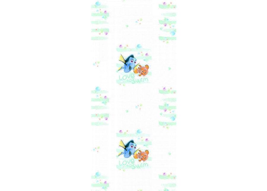 AG Design Fleece-tapetti DORY AND NEMO LOVE TO SWIM, WHITE 53x1000 cm