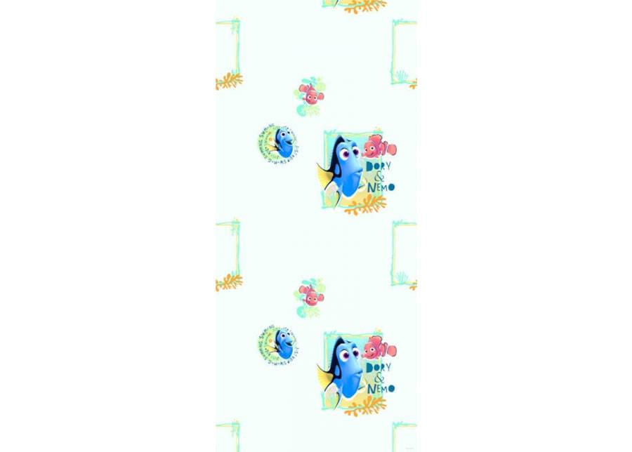 AG Design Fleece-tapetti DORY AND NEMO, LIGHT BLUE 53x1000 cm