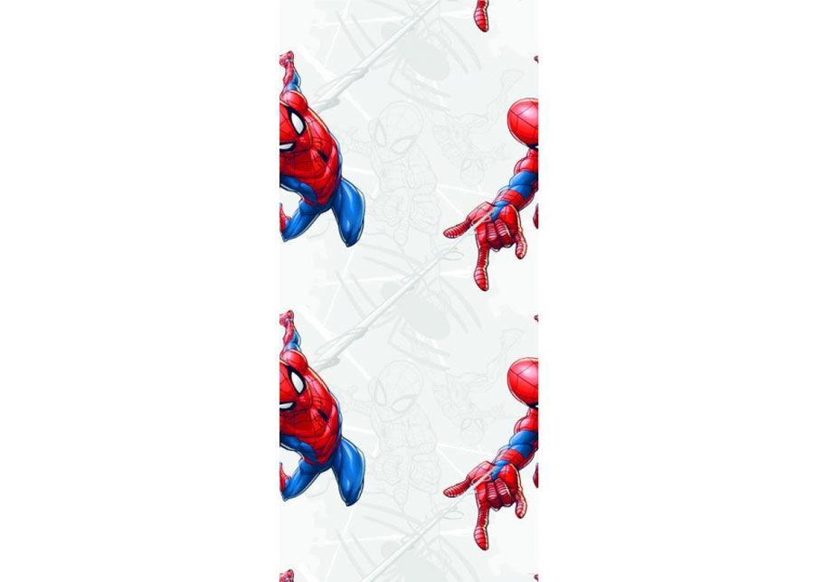 AG Design Fleece-tapetti SPIDER MAN WITH WEB, GREY 53x1000 cm