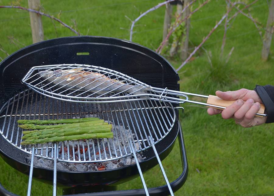 Barbecook Grillaushalsteri kalalle BARBECOOK FSC 66x14 cm
