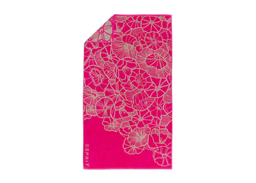 ESPRIT home Rantapyyhe ESPIRIT MAYLA PINK 100x180 cm