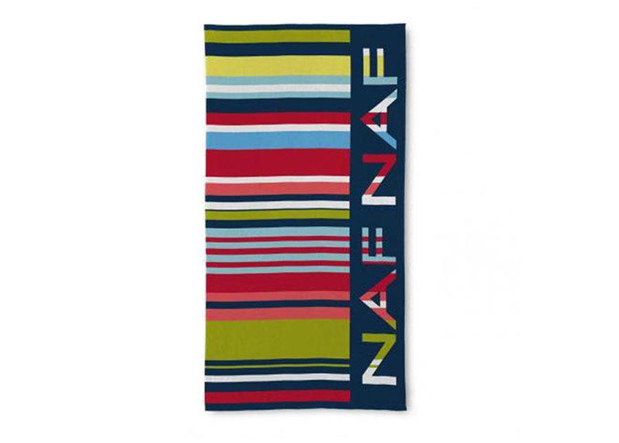 NAF NAF Rantapyyhe NAF NAF CODE 90x180 cm