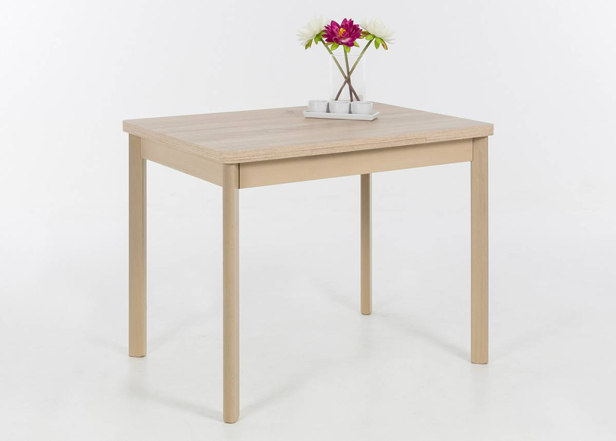HELA Jatkettava ruokapöytä BREMEN II 90-142x65 cm