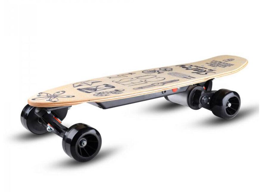 Skatey Sähköpotkulauta 150L Wood Art