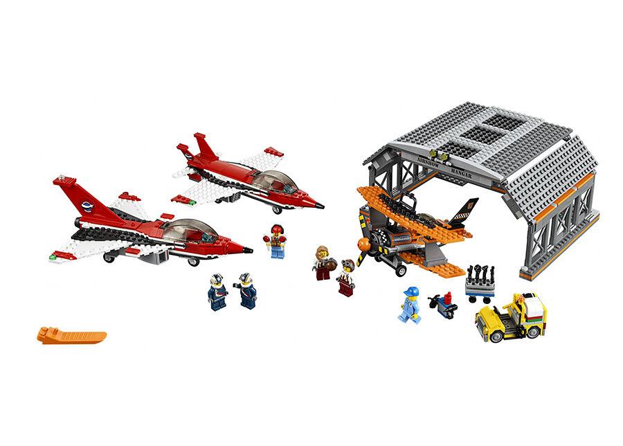 Lego Lentoketntän lentonäytös LEGO CITY