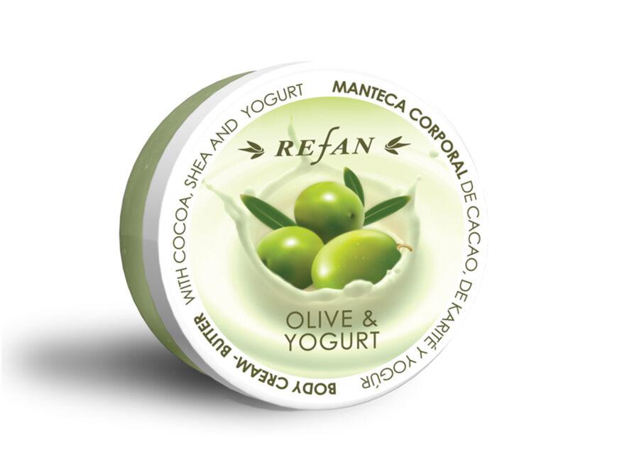 Refan Vartalovoide OLIVE AND YOUGURT 200 ml
