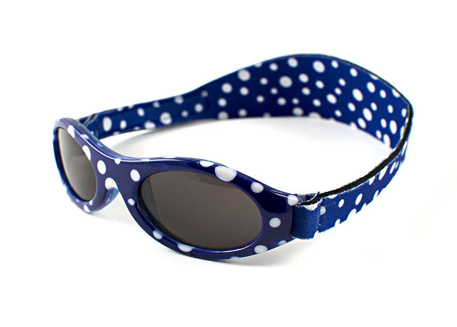 BabyBanz Aurinkolasit siniset täplikkäät 2-5 vuotiaille