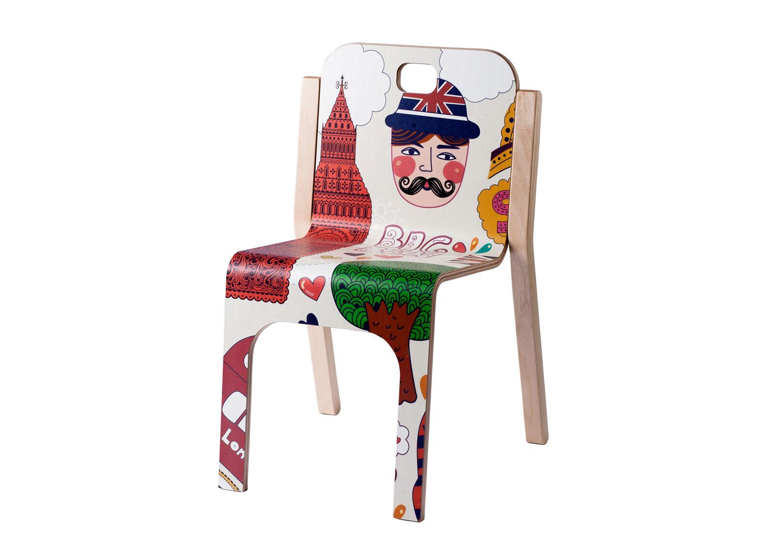 TARMEKO KIDS Lasten tuoli TOMMY 3 LONDON h 57/35 cm