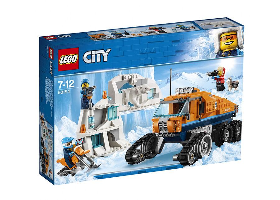 Lego Arktinen tiedusteluauto LEGO City