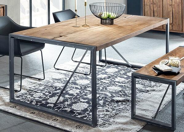 SIT Möbel Ruokapöytä LIVE EDGE 160x90 cm