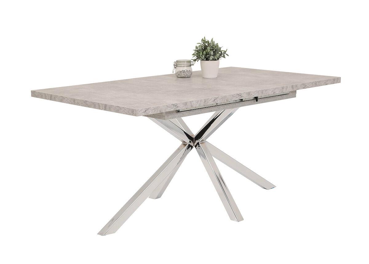 HELA Jatkettava ruokapöytä Malou II 90x160-200 cm