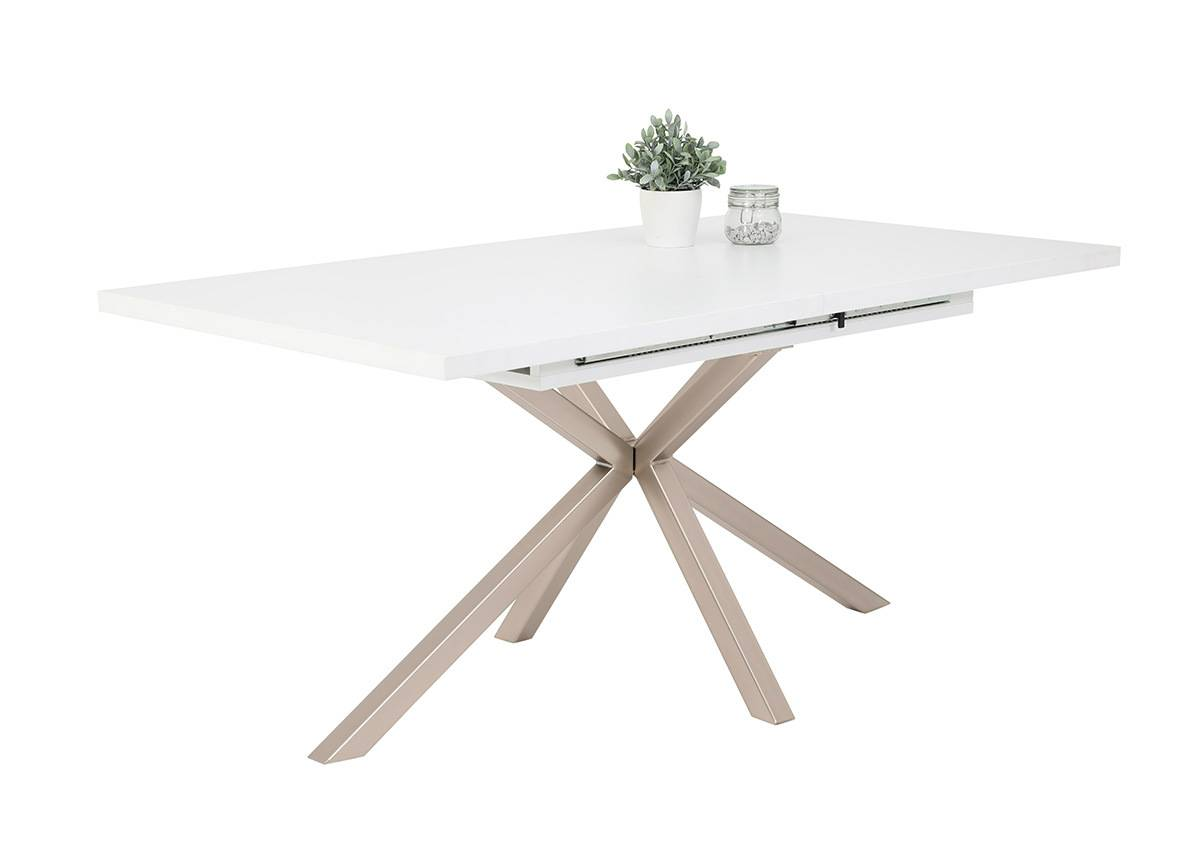HELA Jatkettava ruokapöytä Malou III 90x160-200 cm