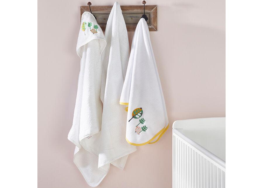 Jänku Vauvan pyyhkeet 3 pientä lintua