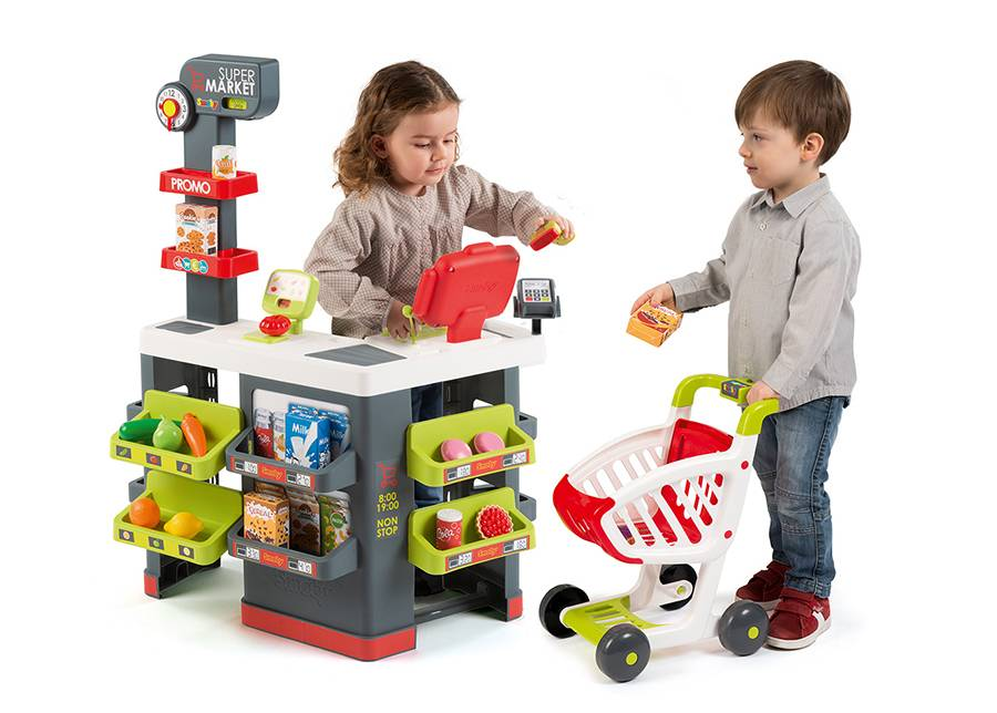 SMOBY Elektroninen supermarket