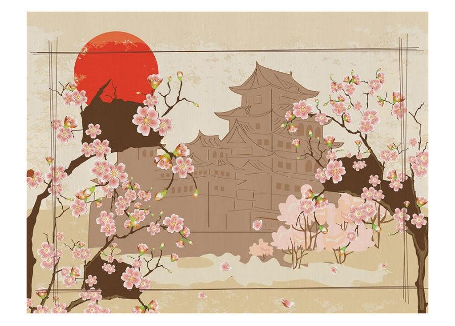 AG Design Fleece kuvatapetti Japan1 360x270 cm