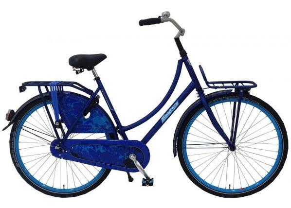 Salutoni Naisten kaupunkipyörä SALUTONI Jeans 28 tuumaa 50 cm