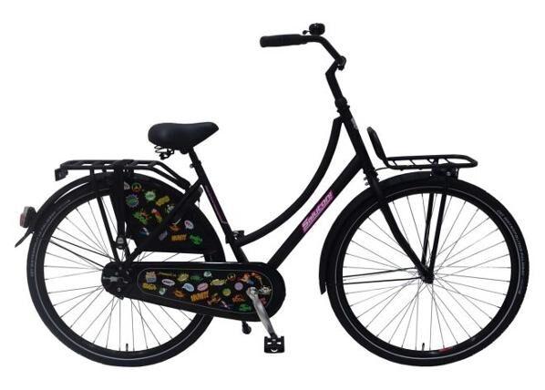 Salutoni Naisten kaupunkipyörä SALUTONI Badges 28 tuumaa 50 cm