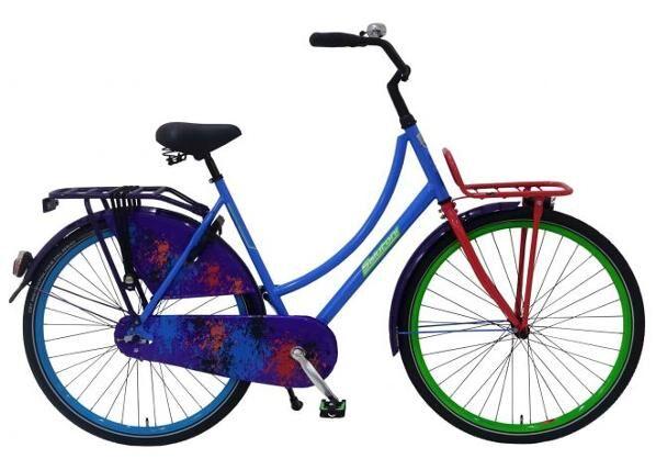 Salutoni Naisten kaupunkipyörä SALUTONI 28 tuumaa 56 cm
