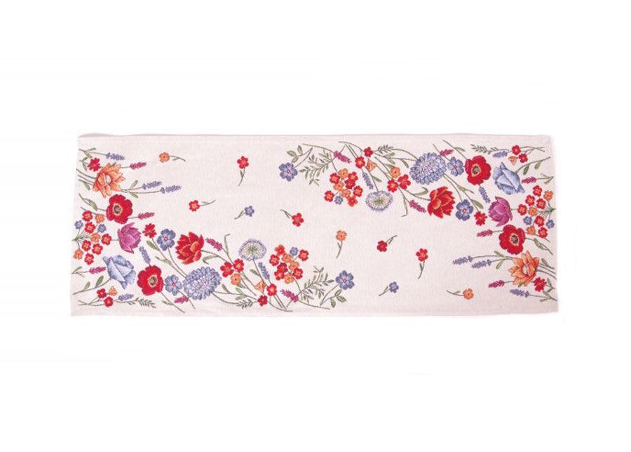 SikSak Gobeliinikankainen pöytäliina Poppy 36x100 cm