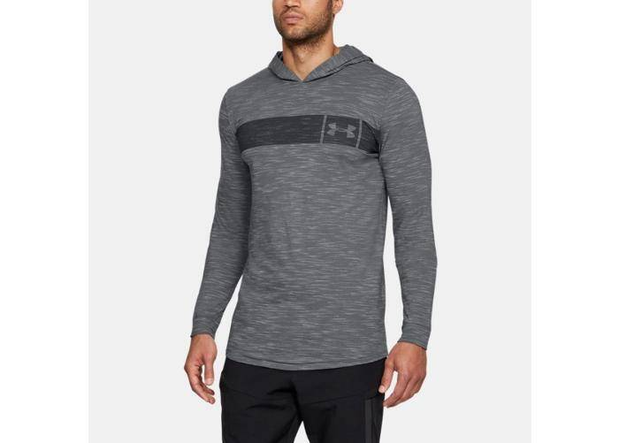 Image of Under Armour Miesten huppari Under Armour Sportstyle Core Hoodie M 1306490-040