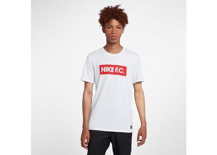 Image of Nike Miesten jalkapallopaita Nike Dry F.C. M AH9661-100