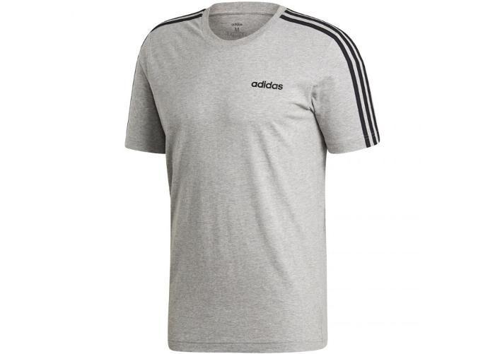 Image of Adidas Miesten vapaa-ajanpaita Adidas Essentials 3 Stripes Tee M