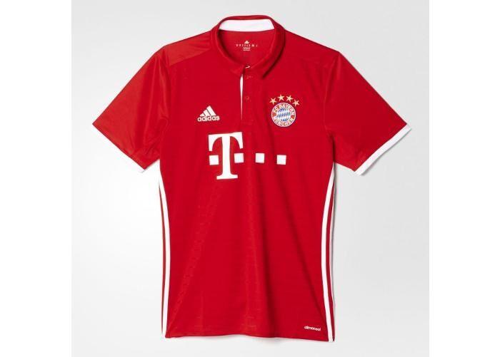 Image of Adidas Miesten jalkapallopaita Adidas FC Bayern Munchen Home Replica 2016/17 M