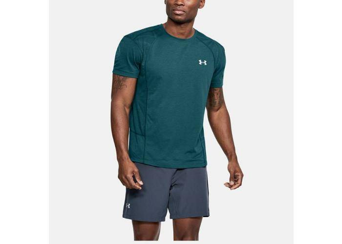 Image of Under Armour Miesten vapaa-ajanpaita Under Armour Threadborne Swft SS Tee M 1318417-716