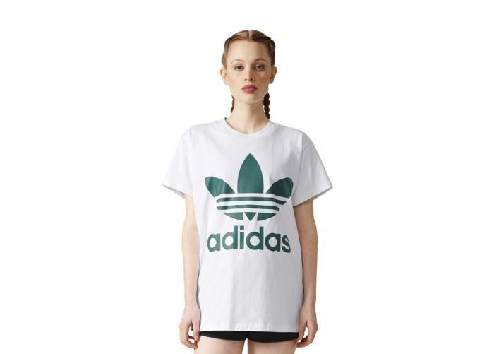Adidas Naisten vapaa-ajan paita Adidas Originals Big Trefoil Tee W