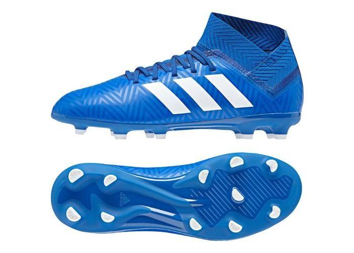 Image of Adidas Lasten jalkapallokengät nurmikentälle Adidas Nemeziz 18.3 FG Jr