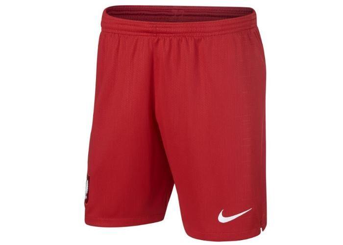 Image of Nike Lasten jalkapalloshortsit Nike Polska Stadium Away Jr