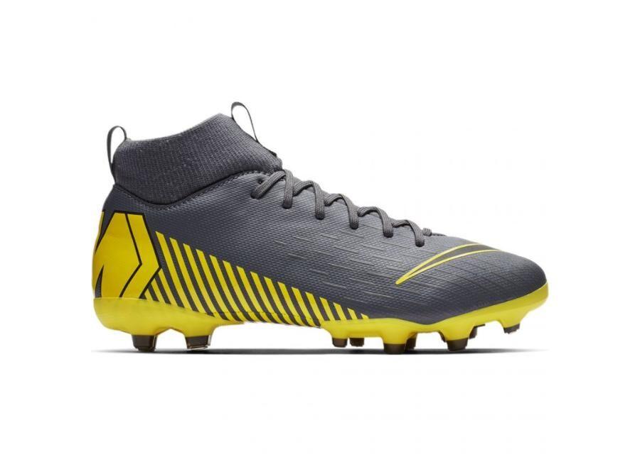 Image of Nike Lasten jalkapallokengät nurmikentälle Nike Mercurial Superfly 6 Academy MG Jr AH7337-070