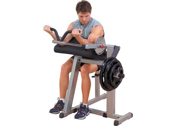 Body-Solid Hauis- ja ojentajalihaslaite Machine Body Solid GCBT-380