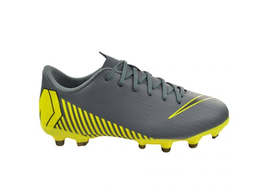 Image of Nike Lasten jalkapallokengät nurmikentälle Nike Mercurial Vapor 12 Academy MG Jr AH7347-070
