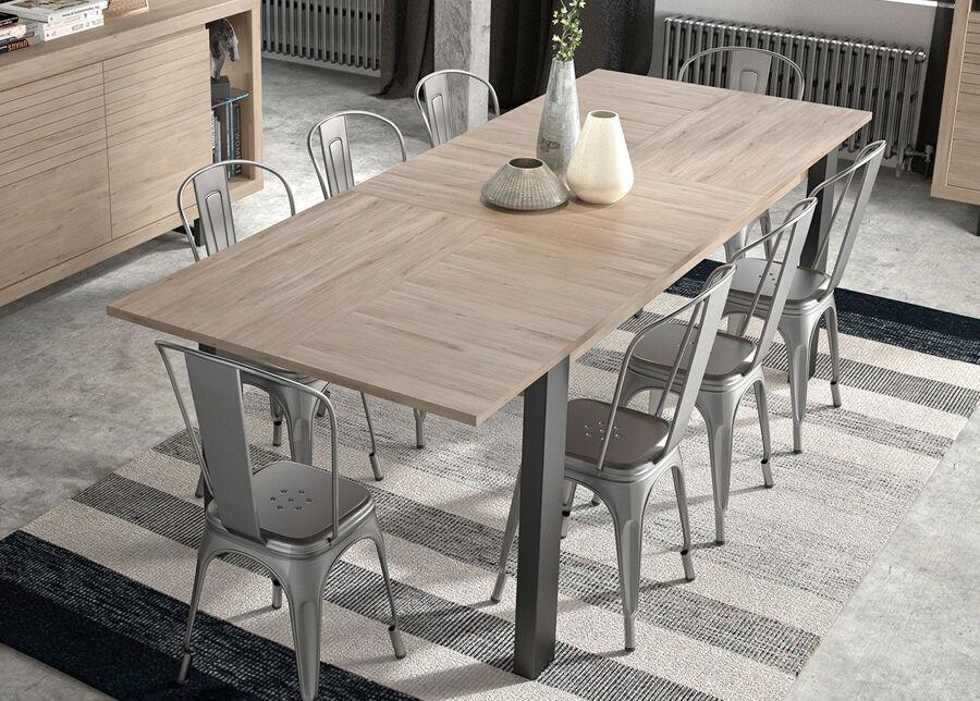 Gami Jatkettava ruokapöytä Clay 180/237x90 cm