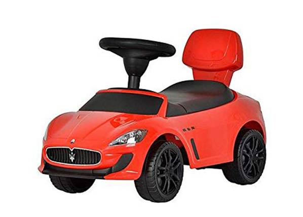 Chi Lok Potkuauto Maserati punainen