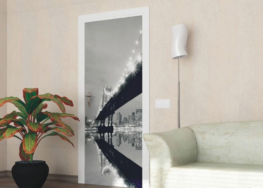 AG Design Fleece kuvatapetti Bridge 90x202 cm